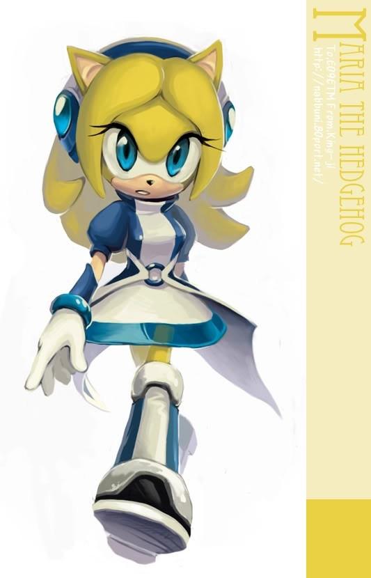 Maria the Hedgehog!