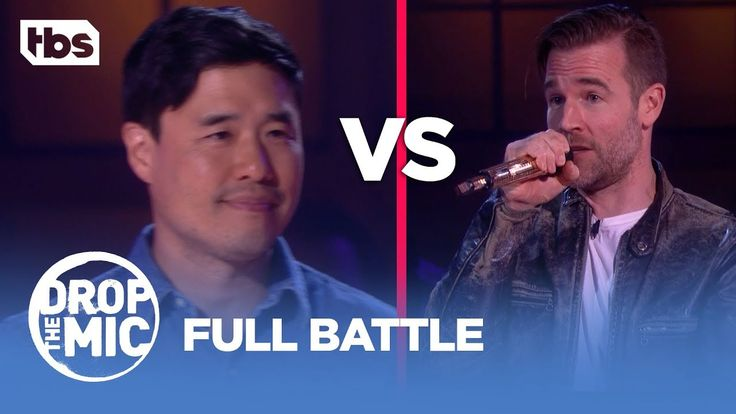 Drop the Mic: Randall Park vs James Van Der Beek - FULL BATTLE | TBS - YouTube