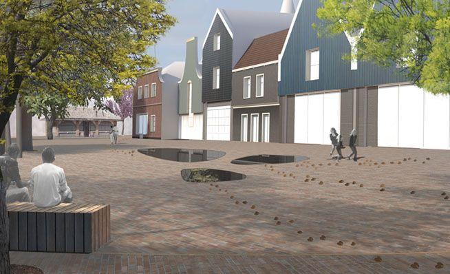 LOOS van VLIET - Redevelopment center Den Burg, Texel