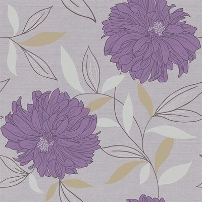 Blue Mountain Wallcoverings LW13432 Prepasted Peony Wallpaper