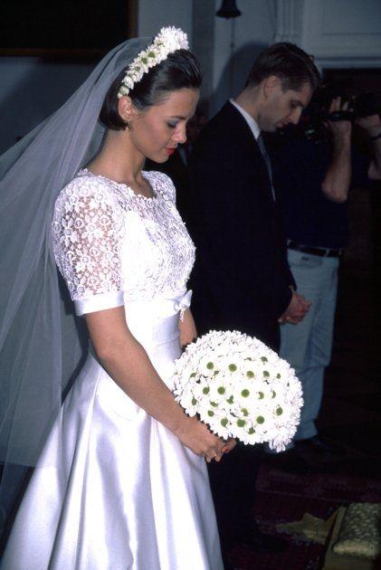 Kinga Rusin i Tomasz Lis, 1994.