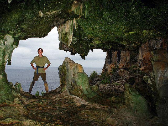 Cueva Capitan (Captain's Cave) cliff entrances Mona Island, Puerto Rico - alan cressler 1 | Flickr - Photo Sharing!