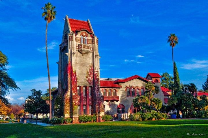 SAN JOSE STATE UNIVERSITY - the oldest state university in California and a great cultural mix.  www.ultimateuniversities.com