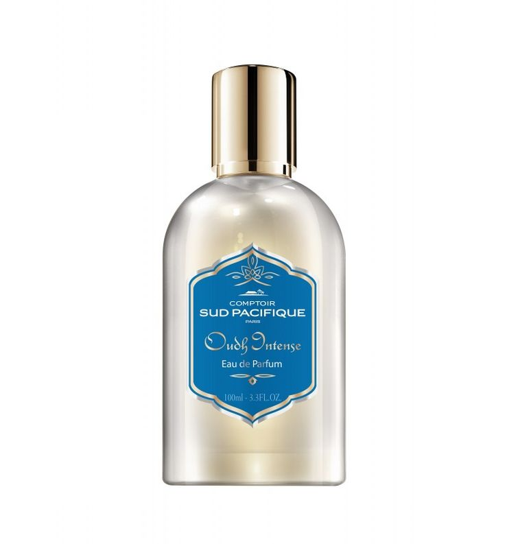 Oudh Intense Comptoir Sud Pacifique - Paris  A journey through the heart of the Arabian mysteries: this rich and subtle perfume is composed of delicate floral scents blended with Oudh, Patchouli from Indonesia and Amber base notes. A captivating, powerful and unforgettable perfume.