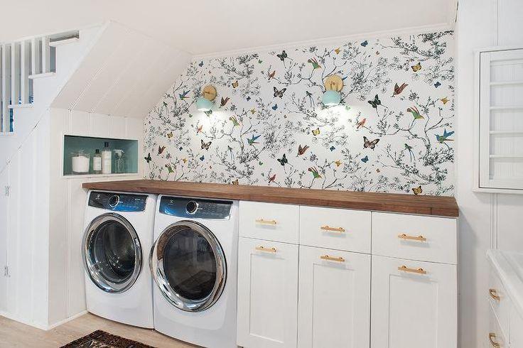 laundry room retro wallpaper - photo #14
