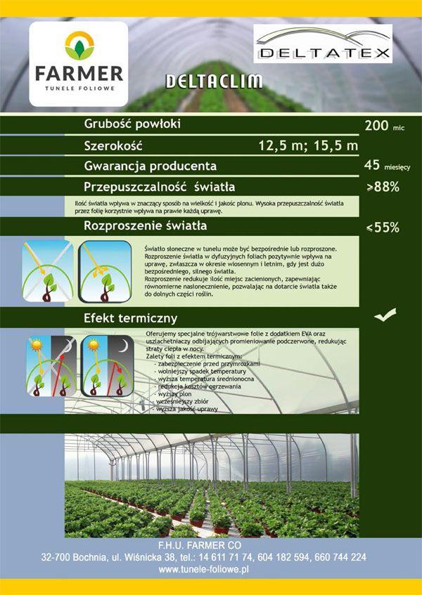 FOLIA DELTACLIM 200 - szer. 15,5m - FOLIE I CIENIÓWKI -