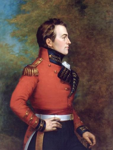 General Sir Isaac Brock, fearless leader, master strategist, and tragic sacrificial hero. I've always seen him as a kind of tall Ewan McGregor in a well-cut red coat.