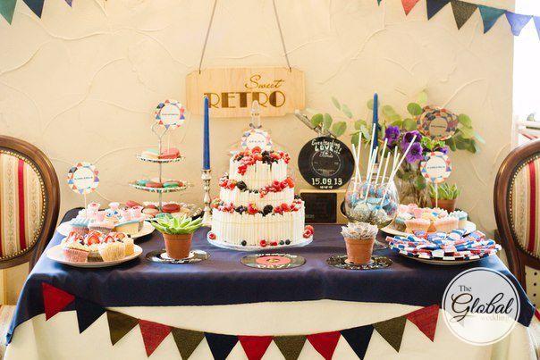 Sweet bar. Wedding cake. Свадебный торт. Сладкий стол.