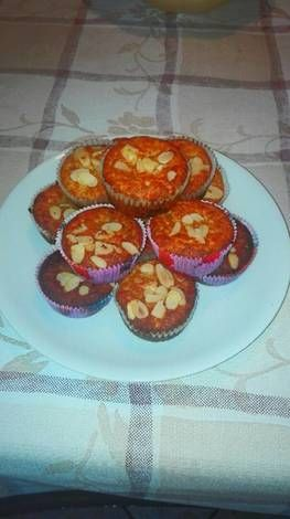 Mandulás mákos muffin