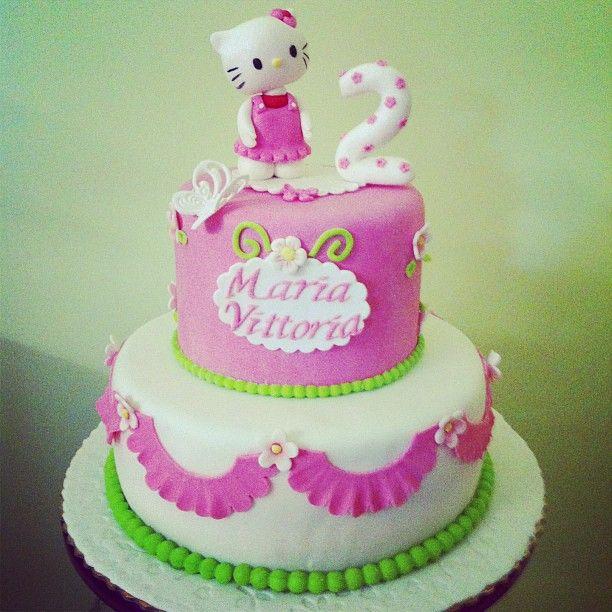 sweet kitty cake