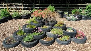 Herbwormwood's Blog: Tyre Garden at Nature's World