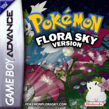 Pokemon Flora Sky Nintendo Game Boy Advance cover artwork
