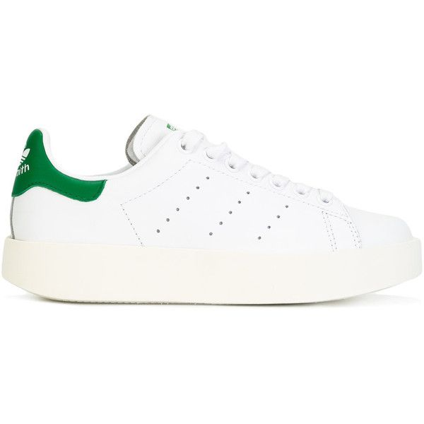 bb37c8a2284 Adidas Stan Smith Bold Sneakers ( 124) ❤ liked on Polyvore featuring shoes