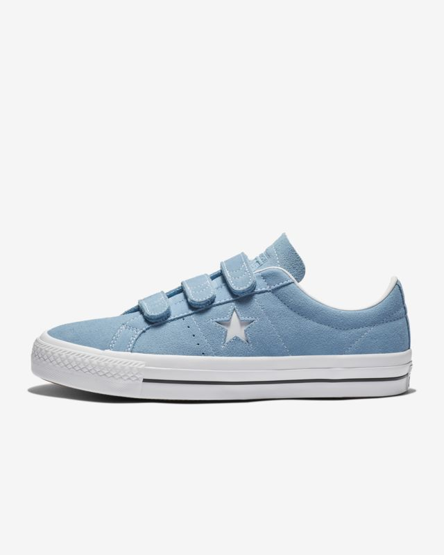 990a94aa90f Converse One Star Pro Hook And Loop Suede Low Top Unisex Skate Shoe ...