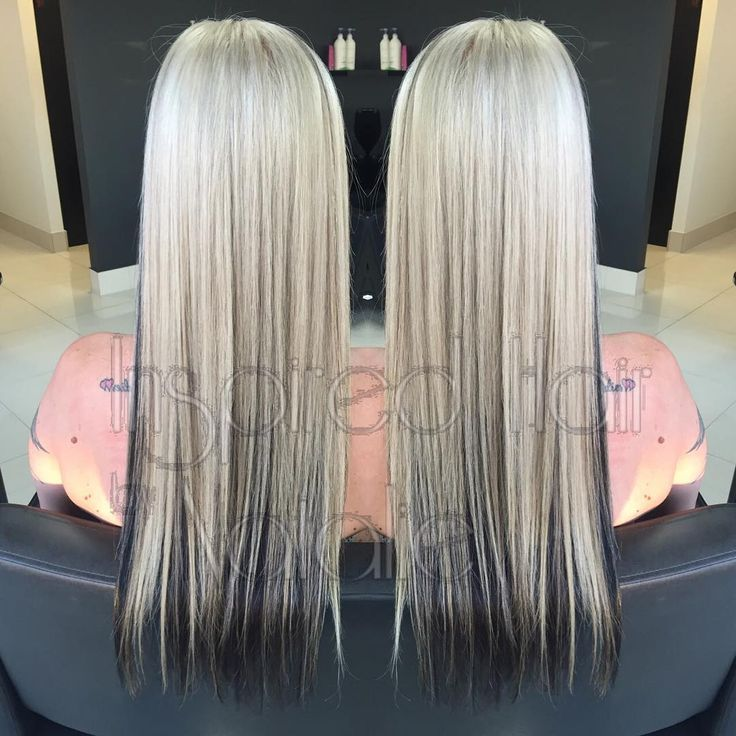 Use my magic wand today and fixed this lovely lady's hair…