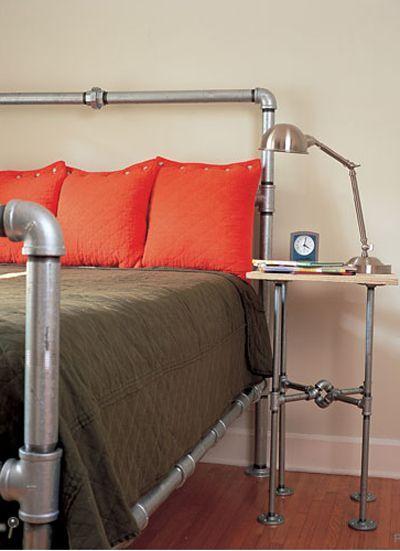 35 Cool Plumbing Pipes Furniture Designs - ArchitectureArtDesigns.com