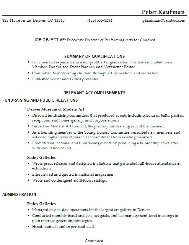 Example Resumes For High School Students. School Résumé Sample And