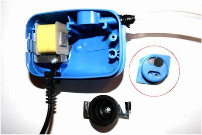 Превращение аквариумного насоса в вакуумный насос