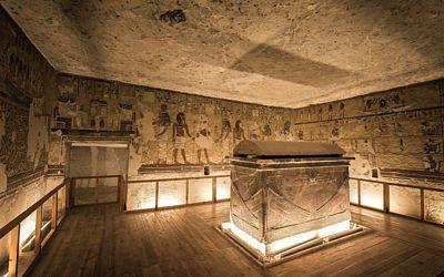 Hrobka Aje Cheperchepure ukrývá skvěle dochovaný sarkofág