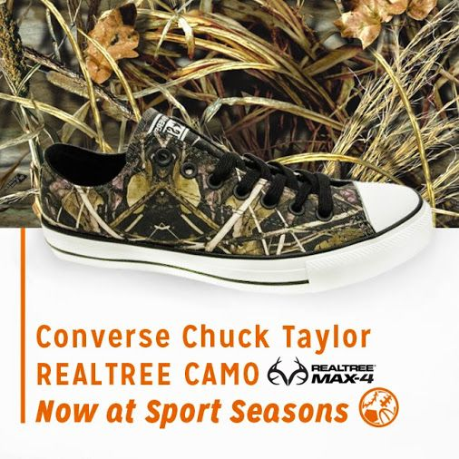 #New Realtree Max 4 Camo Converse   #Realtreecamo #camoshoes