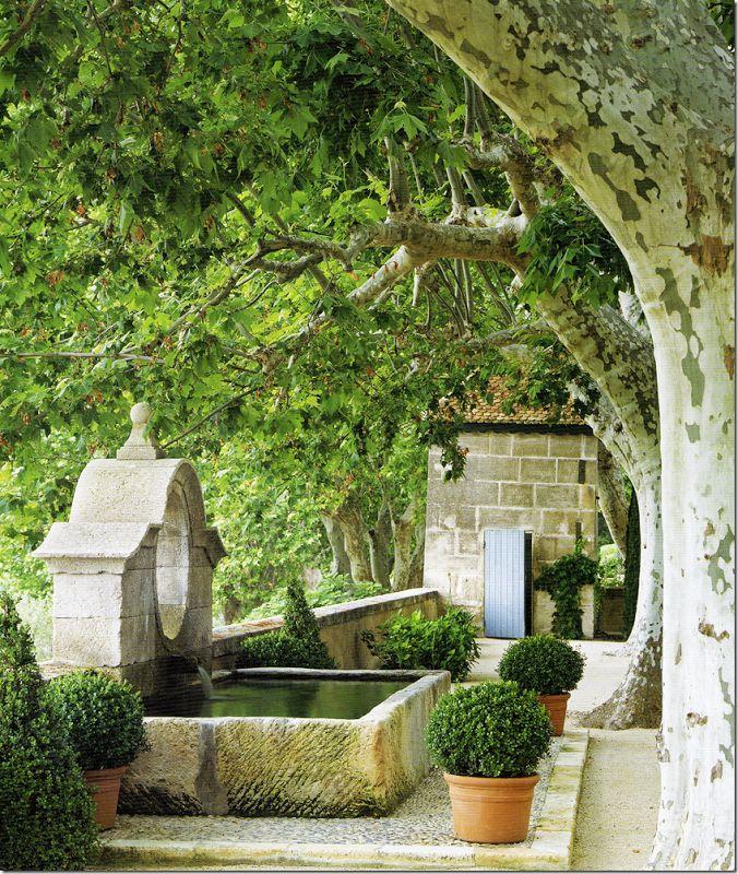 Le Mas de Baraquet, near St- Rémy de Provence.