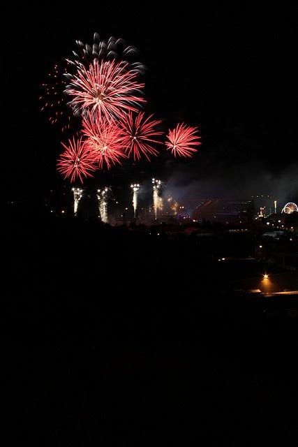 Calgary Stampede Fireworks by tremaine.lea, via Flickr