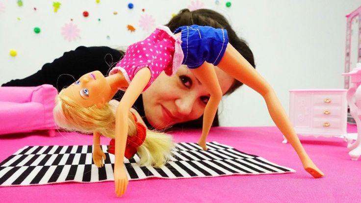 NEW! #Игры для девочек и детское видео про кукол на ютуб: Штеффи и гимна...