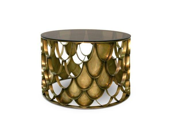 Koi Messing Couchtisch auch ein Symbol von Liebe und Freundschaft.  Wohndesign | Wohnzimmer Ideen | BRABBU | Einrichtungsideen | Luxus Möbel | wohnideen | www.brabbu.com