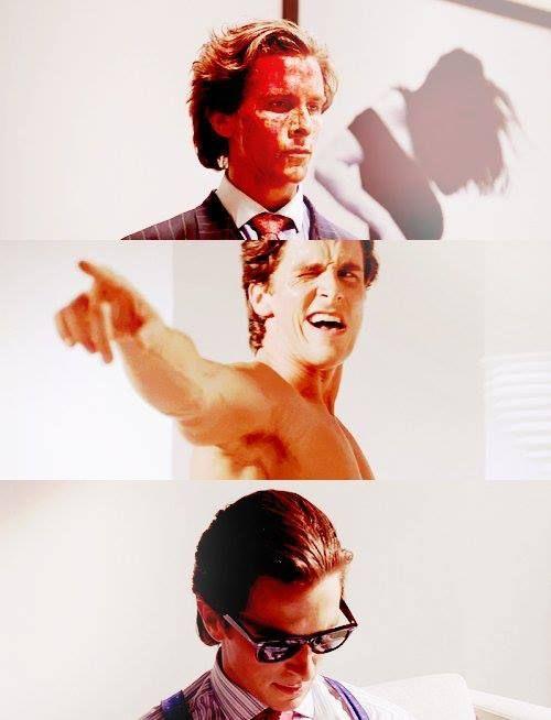 American Psycho (2000); Christian Bale.