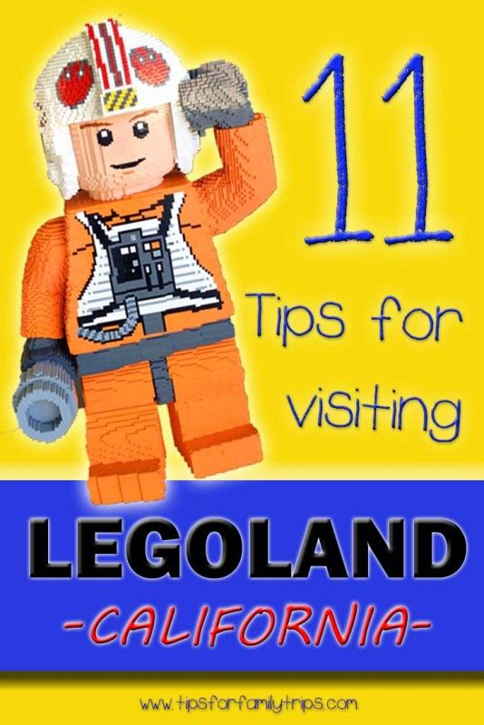 11 tips for visiting LEGOLAND California | tipsforfamilytrips.com
