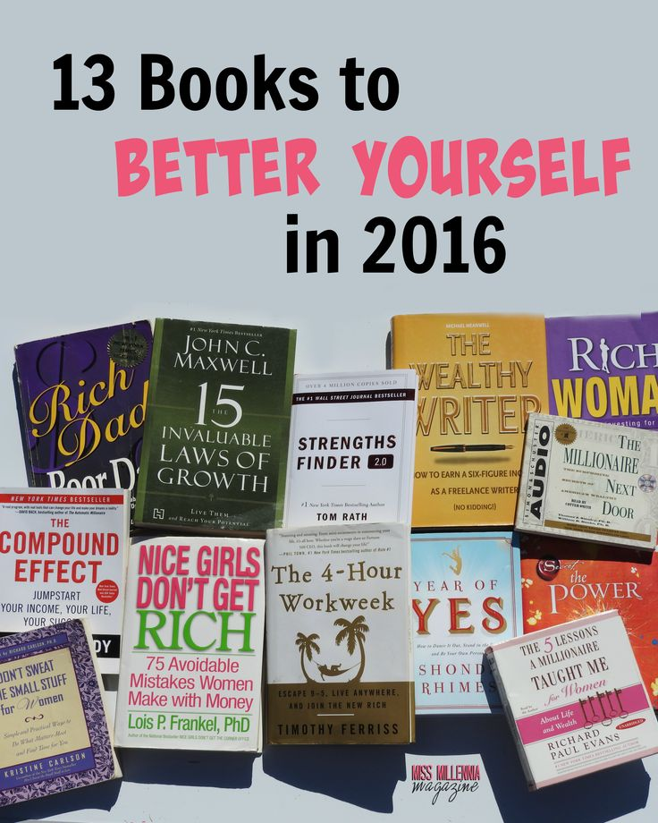 13 Books to Better Yourself in 2016 #eBayGuides2016 #CG via @ebay  #ad