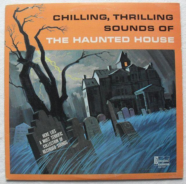 1964 HALLOWEEN vintage Haunted House record album DISNEY Sound Effects LP by Christian Montone, via Flickr