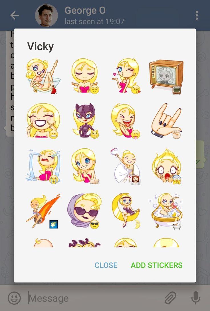 Telegram Messenger Custom Sticker Sets