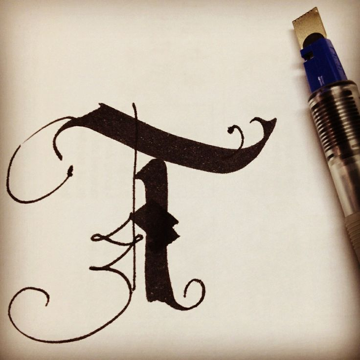 83 best images about parallel pen calligraphy on pinterest for Calligraphy pen letters