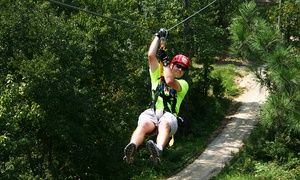 Groupon - $ 49 for a Zipline Tour for One at Kersey Valley Zip Line (a $89 Value) in Jamestown. Groupon deal price: $49