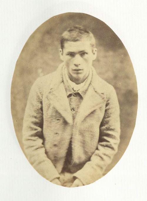 mydaguerreotypeboyfriend: Von den Mountjoy Prison Portraits der irischen Unabhängigkeit, 1857.  Wieder einmal beweist, dass die irischen politischen Gefangenen der heißeste sind.