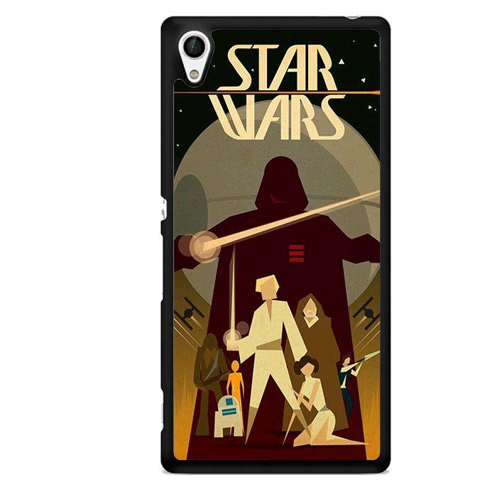 Star Wars Art TATUM-9964 Sony Phonecase Cover For Xperia Z1, Xperia Z2, Xperia Z3, Xperia Z4, Xperia Z5