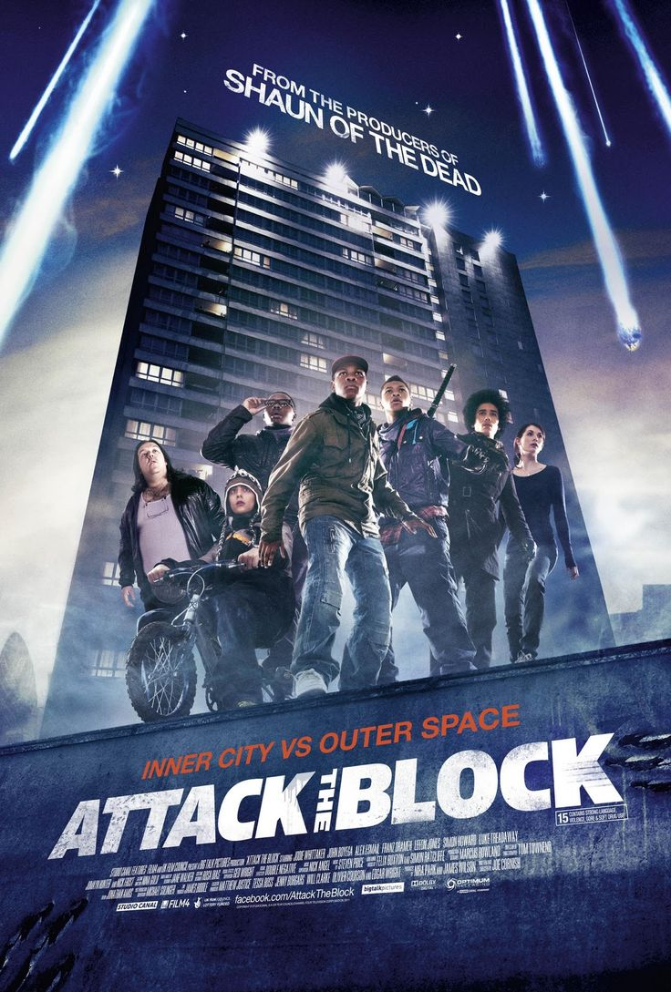 In Attack the Block a gang of street kids are forced to rally together to protect their neighborhood from an alien invasion. One of the few science fiction films I've seen with a diverse cast.