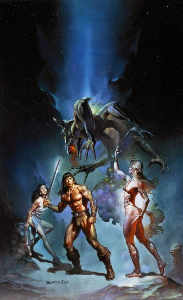 'Conan The Victorious' by Boris Vallejo