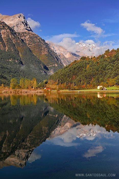 Parque Nacional de Ordesa y Monte Perdido. Huesca, Aragón. España.