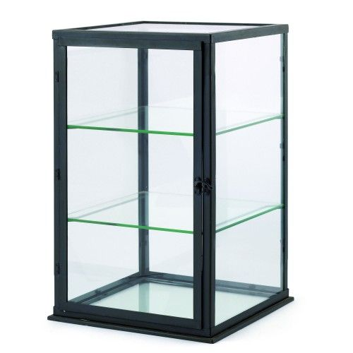 Small Display Cabinet in Grey