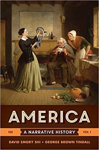 America A Narrative History 10th Edition Volume 1 Pdf Version