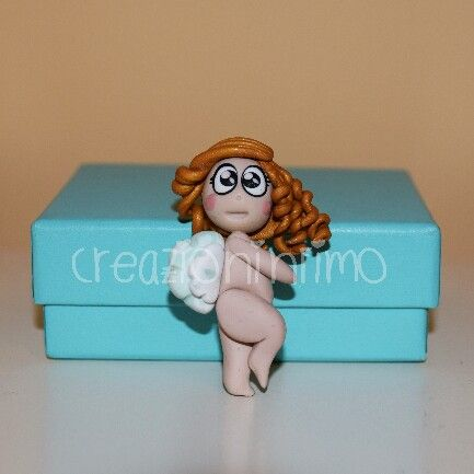 #angelo in #fimo #pollon #angel #biccoli #ringlets