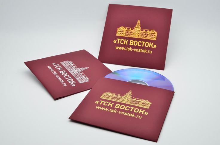 Изготовление CD конвертов