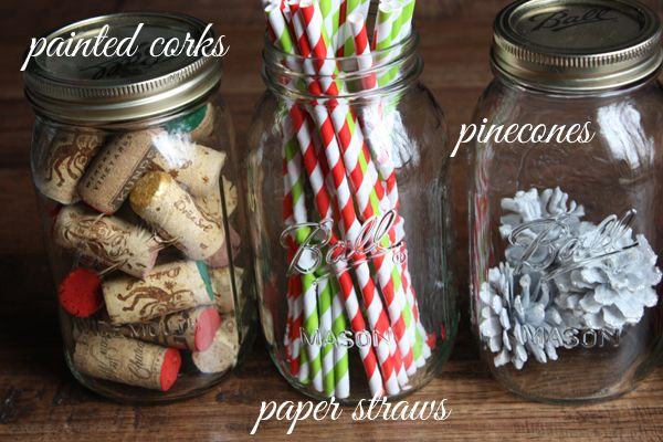 DIY Christmas Decor: Decorating with Mason Jars