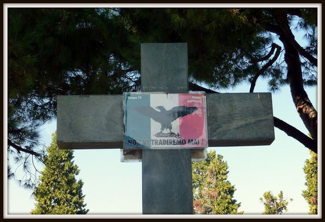 Milano, Cimitero Maggiore, Campo X, Campo dell'Onore - CIMITERO MILITARE - CADUTI REPUBBLICA SOCIALEITALIANA