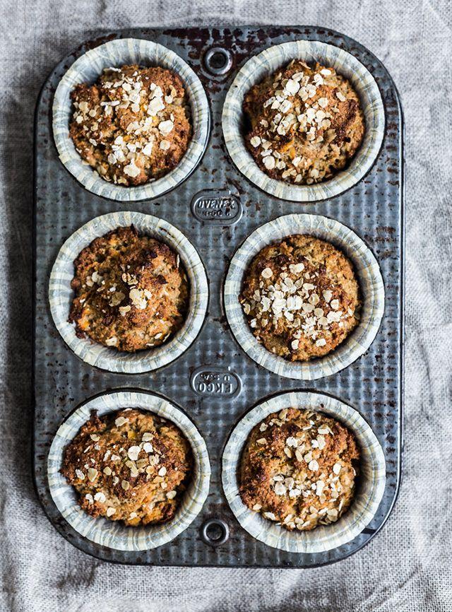 ... sweet potato and cinnamon muffins ...