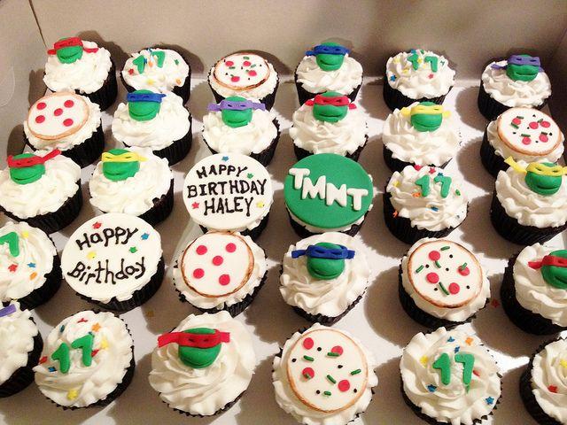 Exclusive Cakes by Tessa Teenage Mutant Ninja Turtles Cupcakes (TMNT)