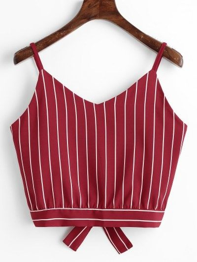 GET $50 NOW | Join Zaful: Get YOUR $50 NOW!https://m.zaful.com/bowknot-stripes-cut-out-cropped-tank-top-p_496073.html?seid=7894539zf496073