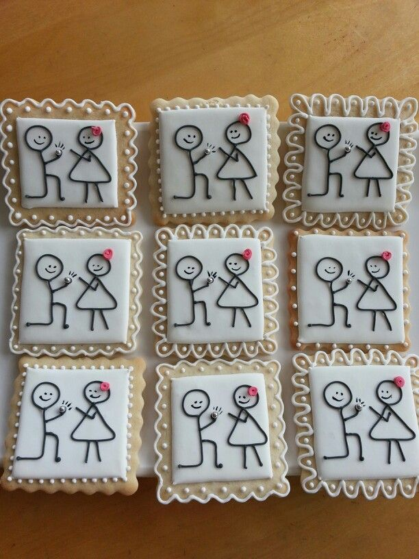 Engagement cookies by Dyan